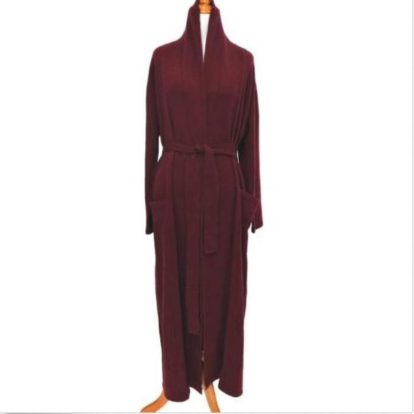 9212de112aa7 Chris Arlotta Cashmere Long Robe XS New